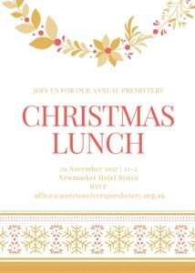 christmas lunch invite